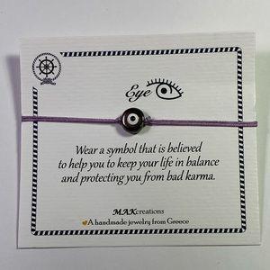 Good luck Eye Charm Bracelet